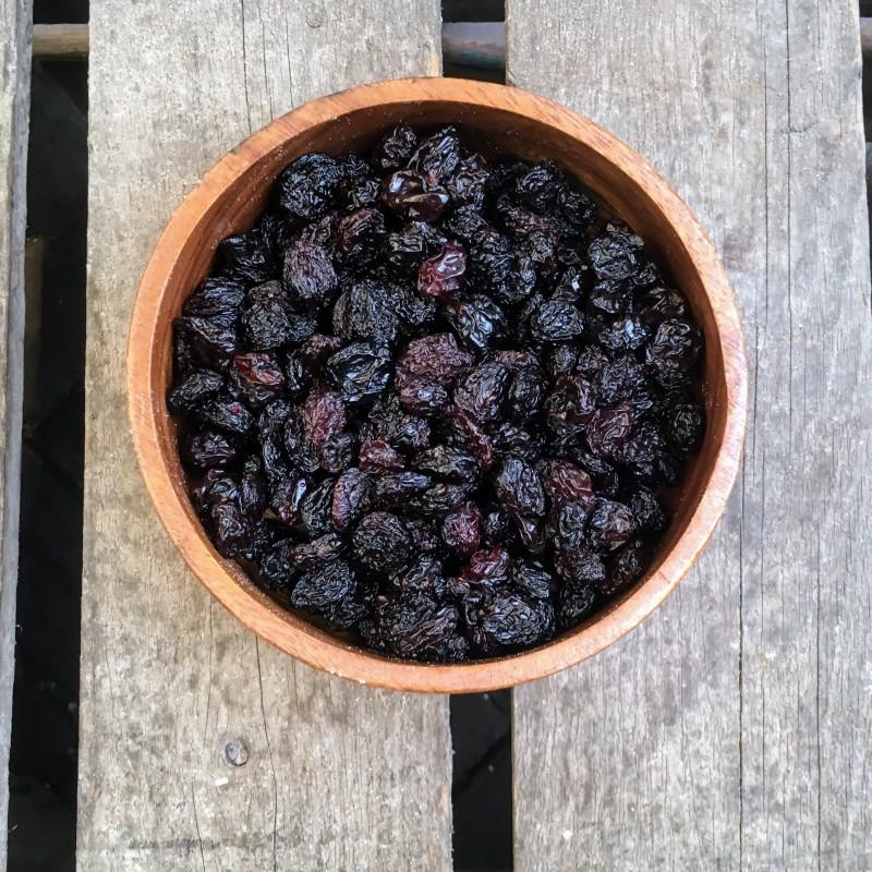 Rozijnen Grote blauwe rozijnen Verse gezonde noten