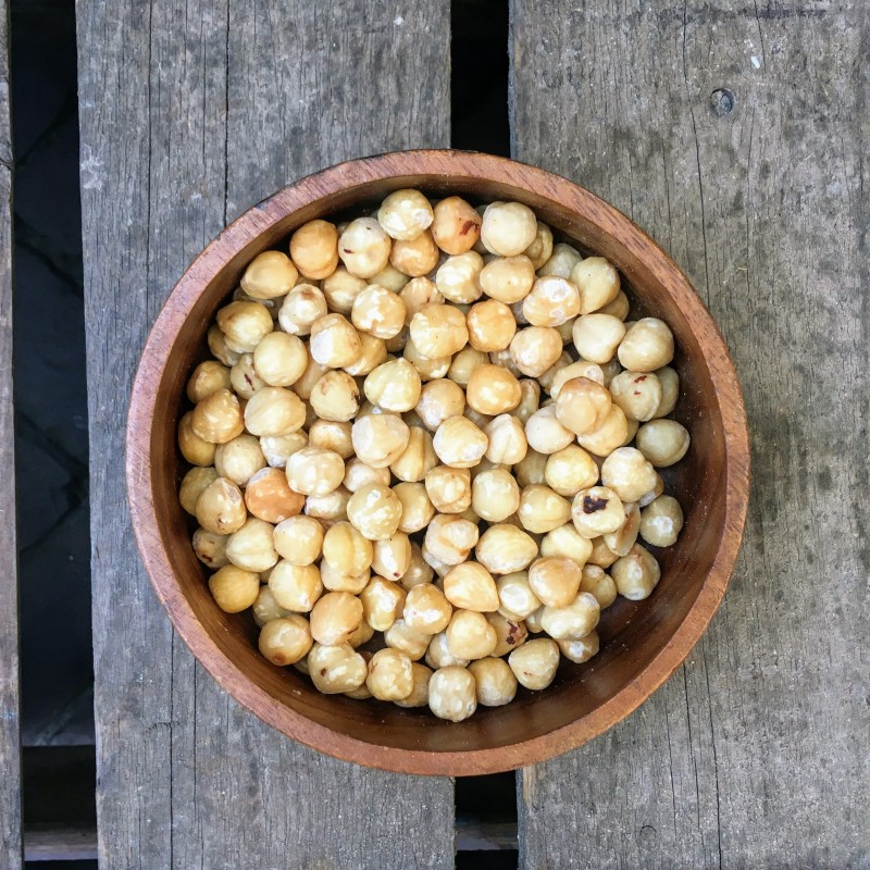 Gebrande Noten Gebrande hazelnoten zonder vlies Verse gezonde noten