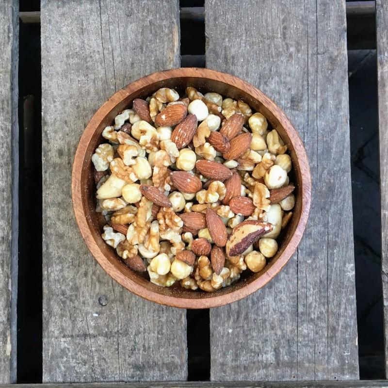 Ongebrande notenmixen Ongebrande notenmix met paranoot Verse gezonde noten