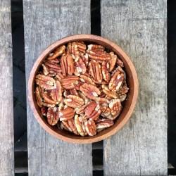 Gebakken pecannoten gezouten - Verse gezonde noten