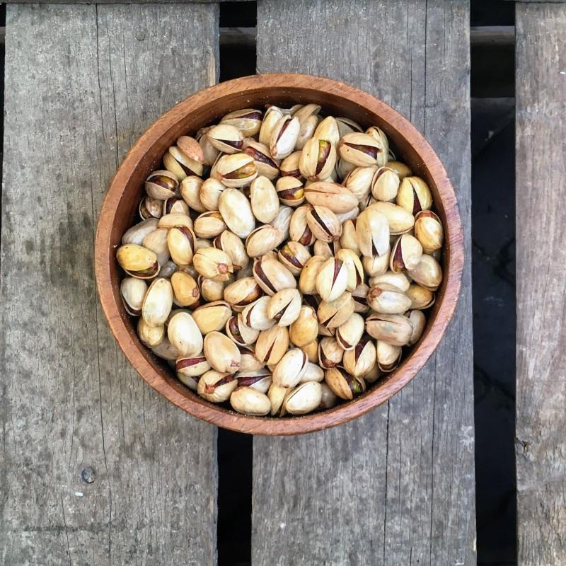 Gebrande Noten Gebrande pistachenoten ongezouten Verse gezonde noten