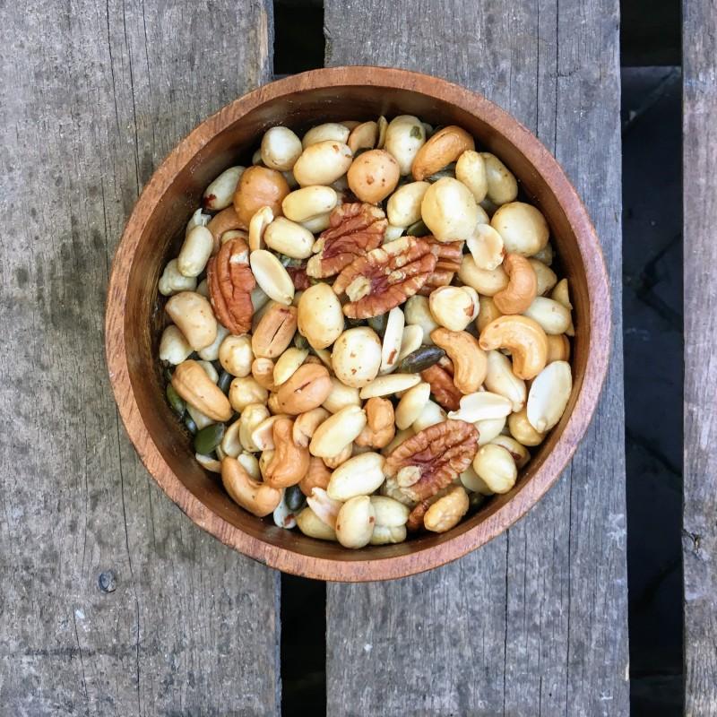 Seizoenmix Seizoenmix gezouten Verse gezonde noten