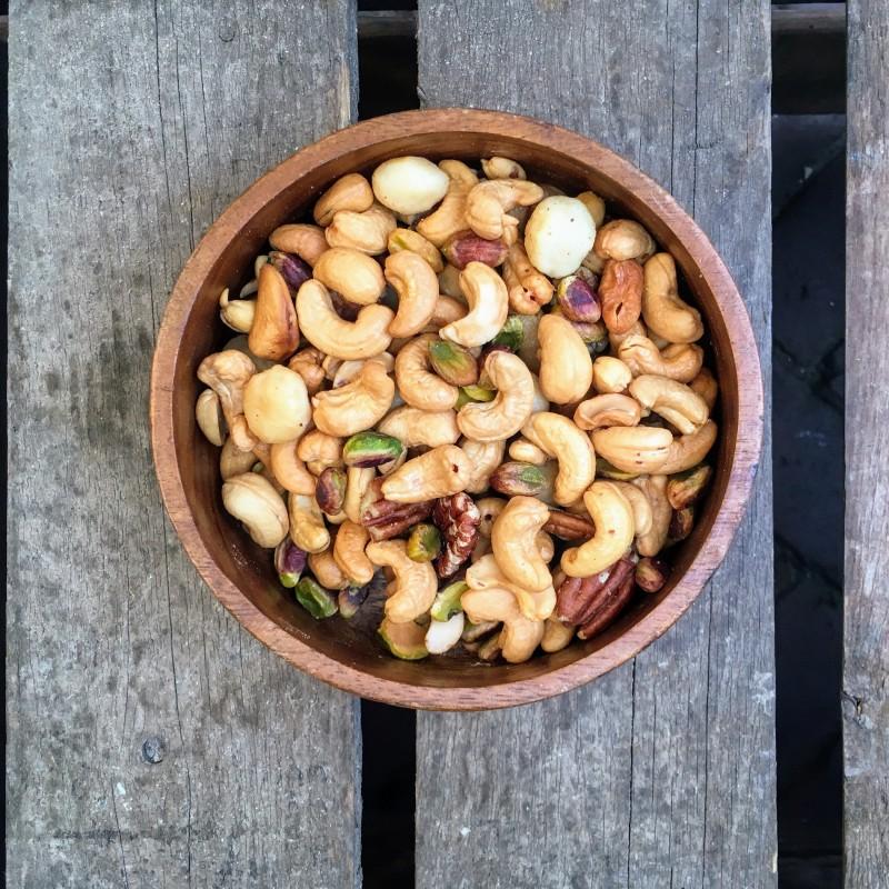 Super-de-Luxe notenmix Super-de-Luxe mix gezouten Verse gezonde noten