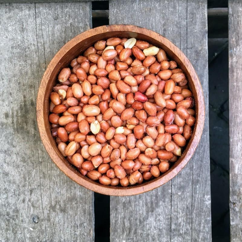 Vliespinda's Kleine vliespinda's gezouten Verse gezonde noten
