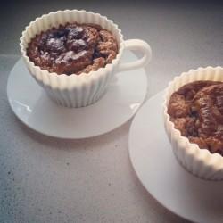 Ontbijt Havervlokken gebroken Verse gezonde noten