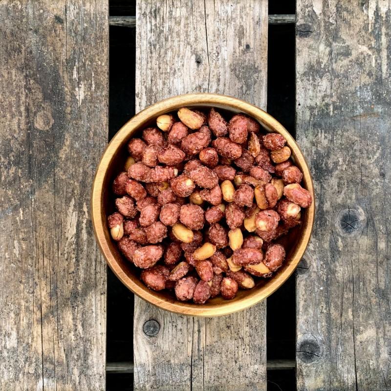 Zoete pinda's Suikerpinda's Verse gezonde noten