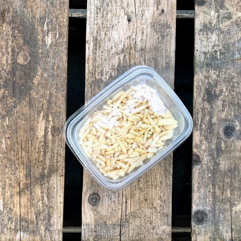 Amandelschaafsel Amandelstukjes Verse gezonde noten