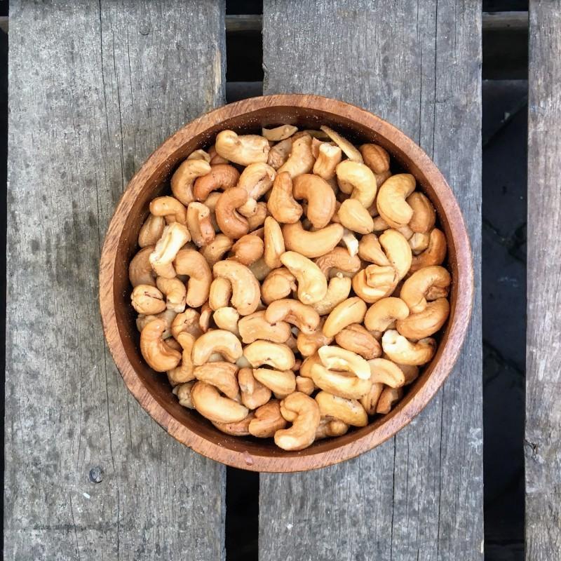 Cashewnoten Gebrande cashewnoten ongezouten Verse gezonde noten