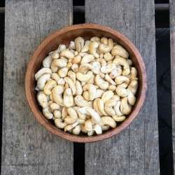 Cashewnoten Ongebrande cashewnoten Verse gezonde noten