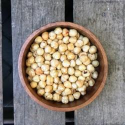 Gebrande hazelnoten zonder vlies - Verse gezonde noten