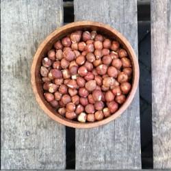 Ongebrande hazelnoten met vlies - Verse gezonde noten