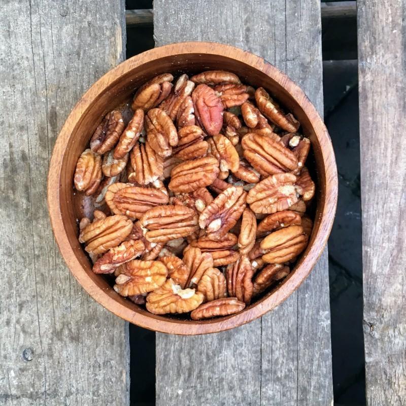 Pecannoten Ongebrande pecannoten Verse gezonde noten