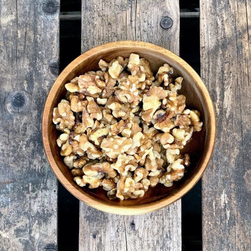 Walnoten gepeld Walnootstukjes Verse gezonde noten