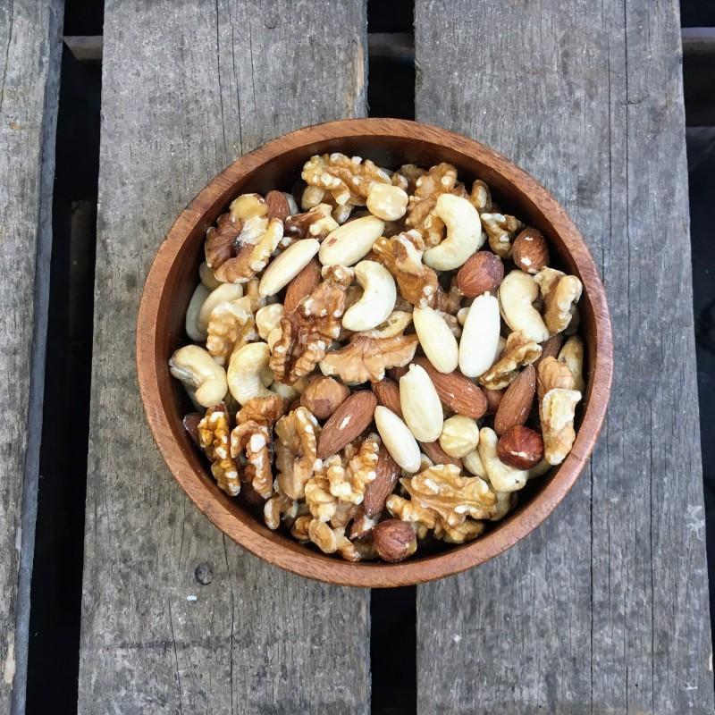Ongebrande Noten Ongebrande notenmix met cashewnoten Verse gezonde noten