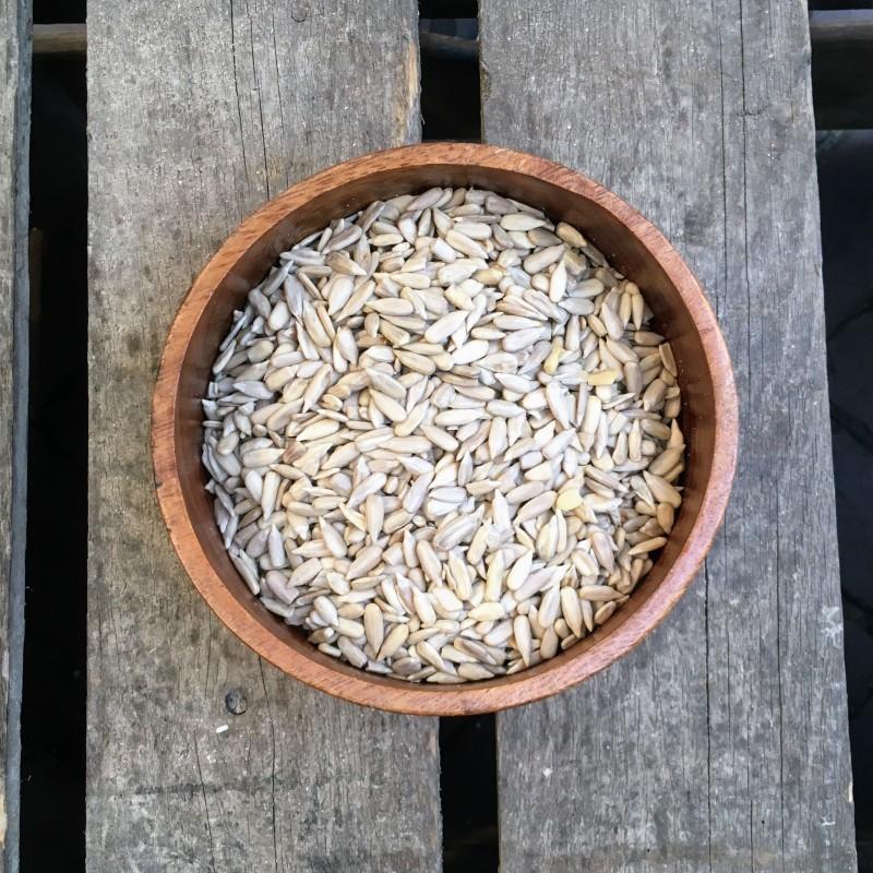 Zaden en pitten Zonnebloempitten Verse gezonde noten