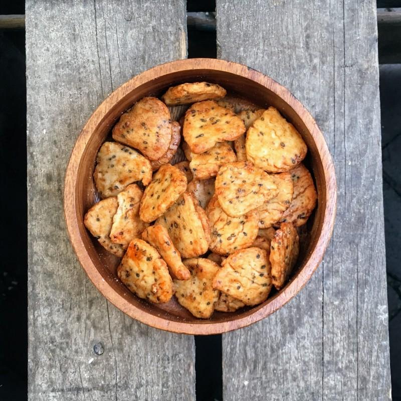 Rijstcrackers Mooncrackers Verse gezonde noten