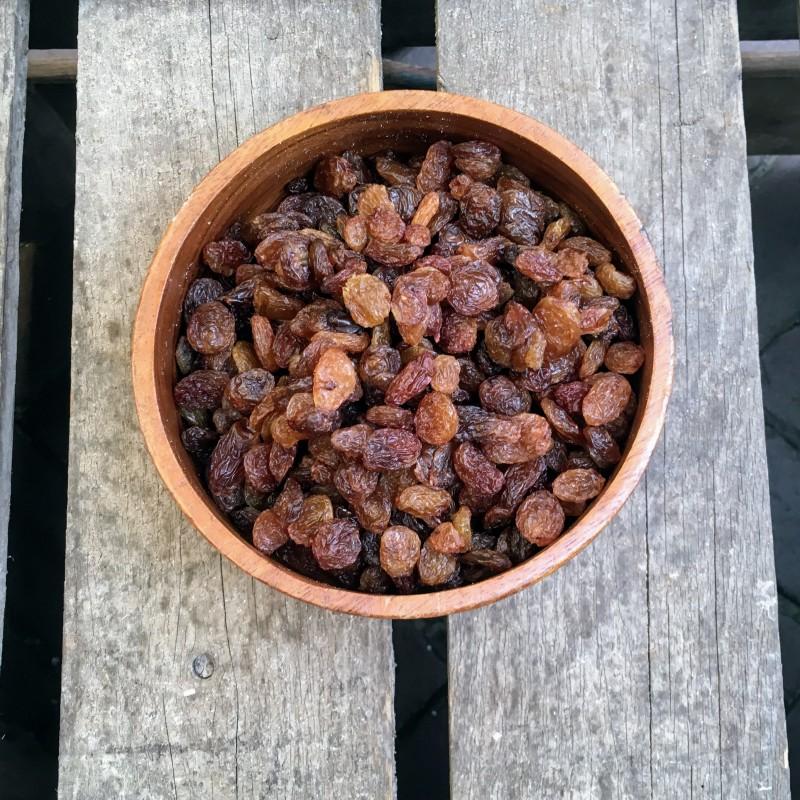 Rozijnen Bruine rozijnen Verse gezonde noten