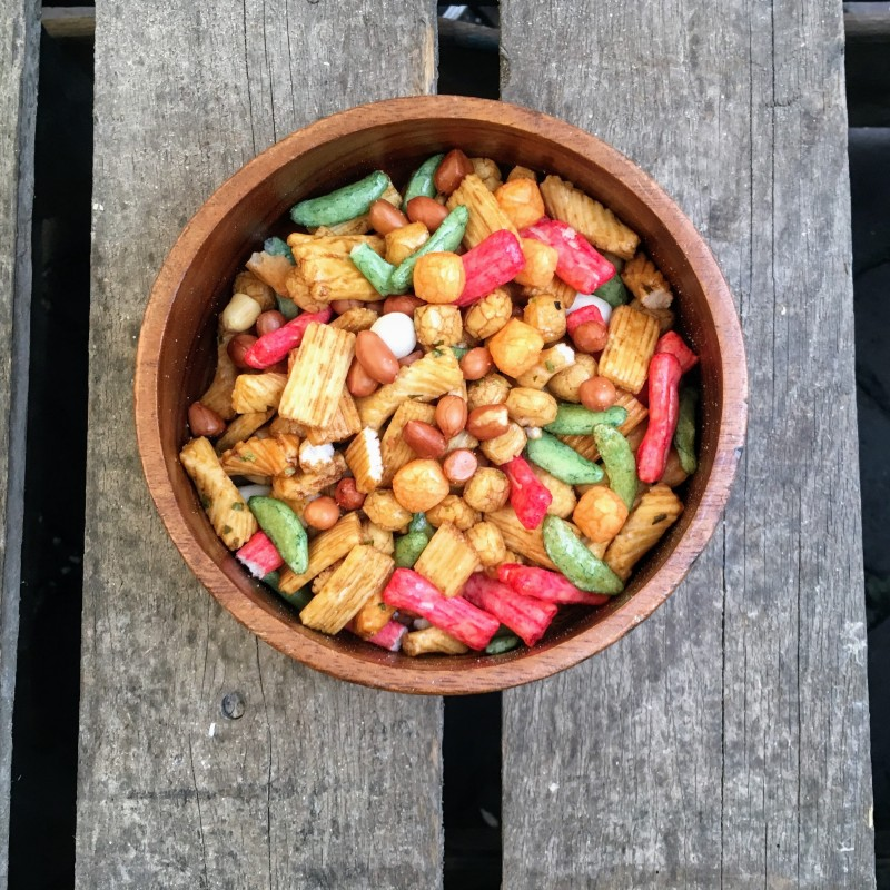 Rijstcrackers Chinamix Verse gezonde noten