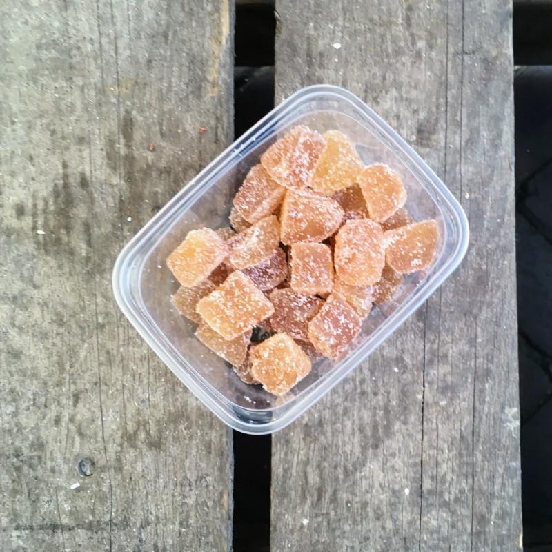 Gember Kristalgember gesuikerd Verse gezonde noten