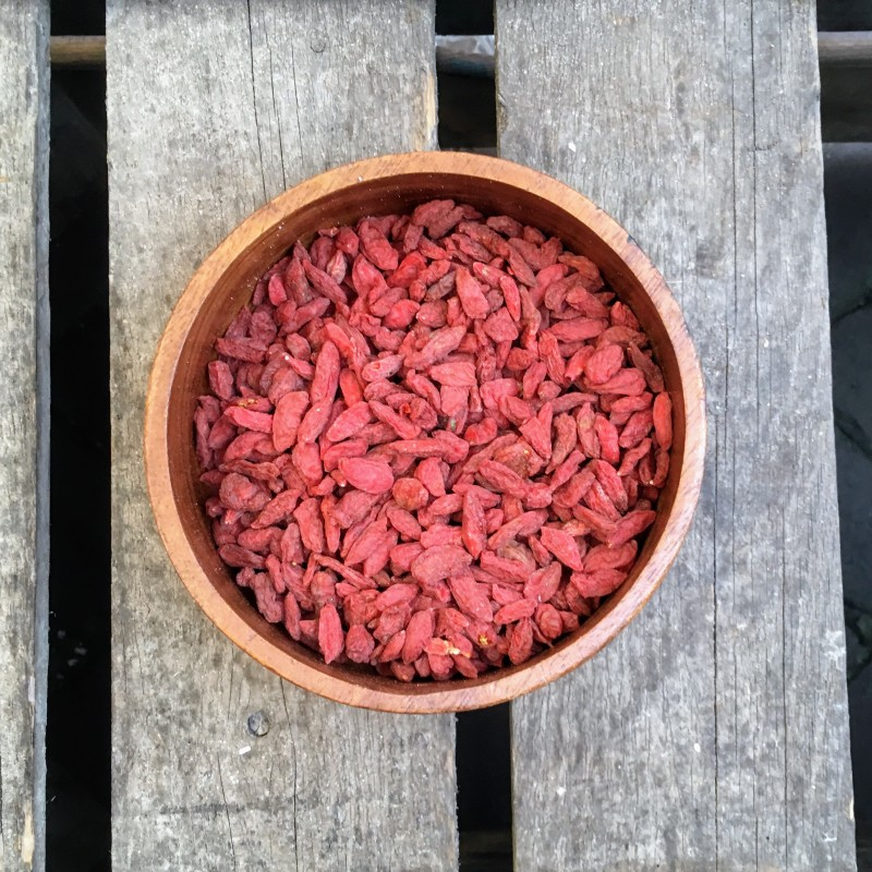 Superfood Gojibessen Verse gezonde noten